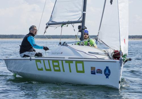 Sieger bei den First 18: Thomas JUNGBLUT und Axel SOLBACH. Foto Pepe Hartmann.