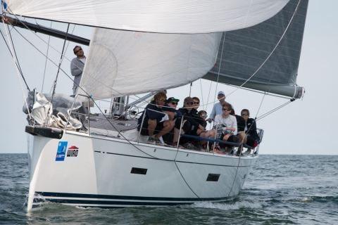 Die X-Day zählt mit Skipper Max Gurgel zu den Favoriten der Internationalen deutschen Meisterschaft im Seesegeln