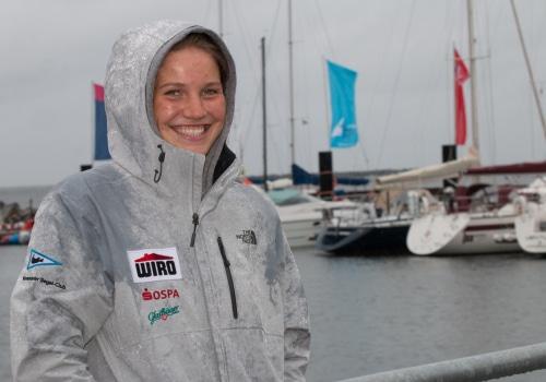 Hannah Anderssohn aus Rostock/Warnemünde ist Mitfavoritin bei den Laser Radial