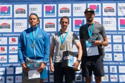 Jan Kurfeld gewann bei den Finn-Dinghies, vor Taavi Valter Taveter aus Estland und Lars Haverland aus Schwerin
