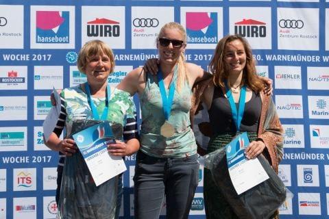 Siegerin bei den Europes wurde Nadine Möller vor Ute Witke und Karina Winter