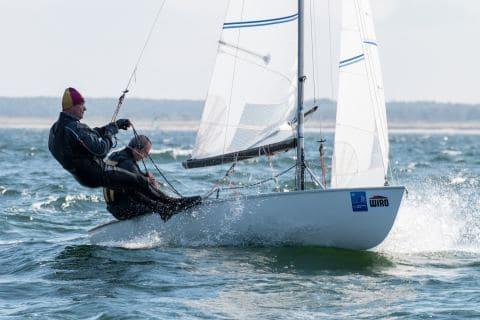 Axel Oberemm und Gerd Linnemann erreichten bei den Korsaren den zweiten Platz