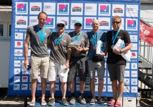 Europameister bei den 505ern wurden Jorgen und Jacob Bojsen-Møller aus Dänemark vor Nathan Batchelor und Sam Pascoe aus Großbritanien und Lutz Stengel und Frank Feller aus Rostock