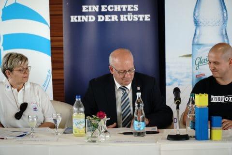 Pressekonferenz 81. Warnemünder Woche 3. Juli 2018 01
