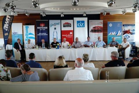 Pressekonferenz 81. Warnemünder Woche 3. Juli 2018 02