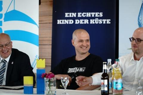 Pressekonferenz 81. Warnemünder Woche 3. Juli 2018 04