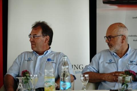 Pressekonferenz 81. Warnemünder Woche 3. Juli 2018 06