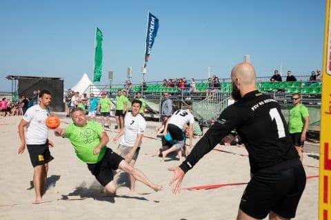 1. Tag der 24. Beachhandballtage 02