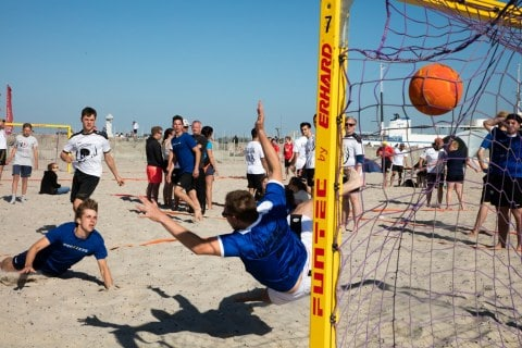 1. Tag der 24. Beachhandballtage 03