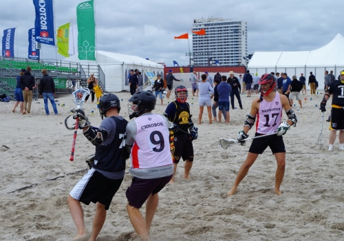 """Lacrosse Turnier """"LAX at the Beach"""" 01"""