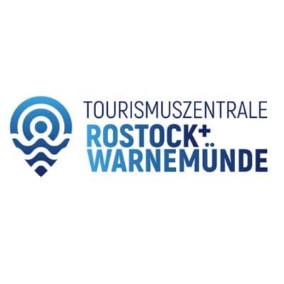 Tourismuszentrale Rostock + Warnemünde - Wortbildmarke